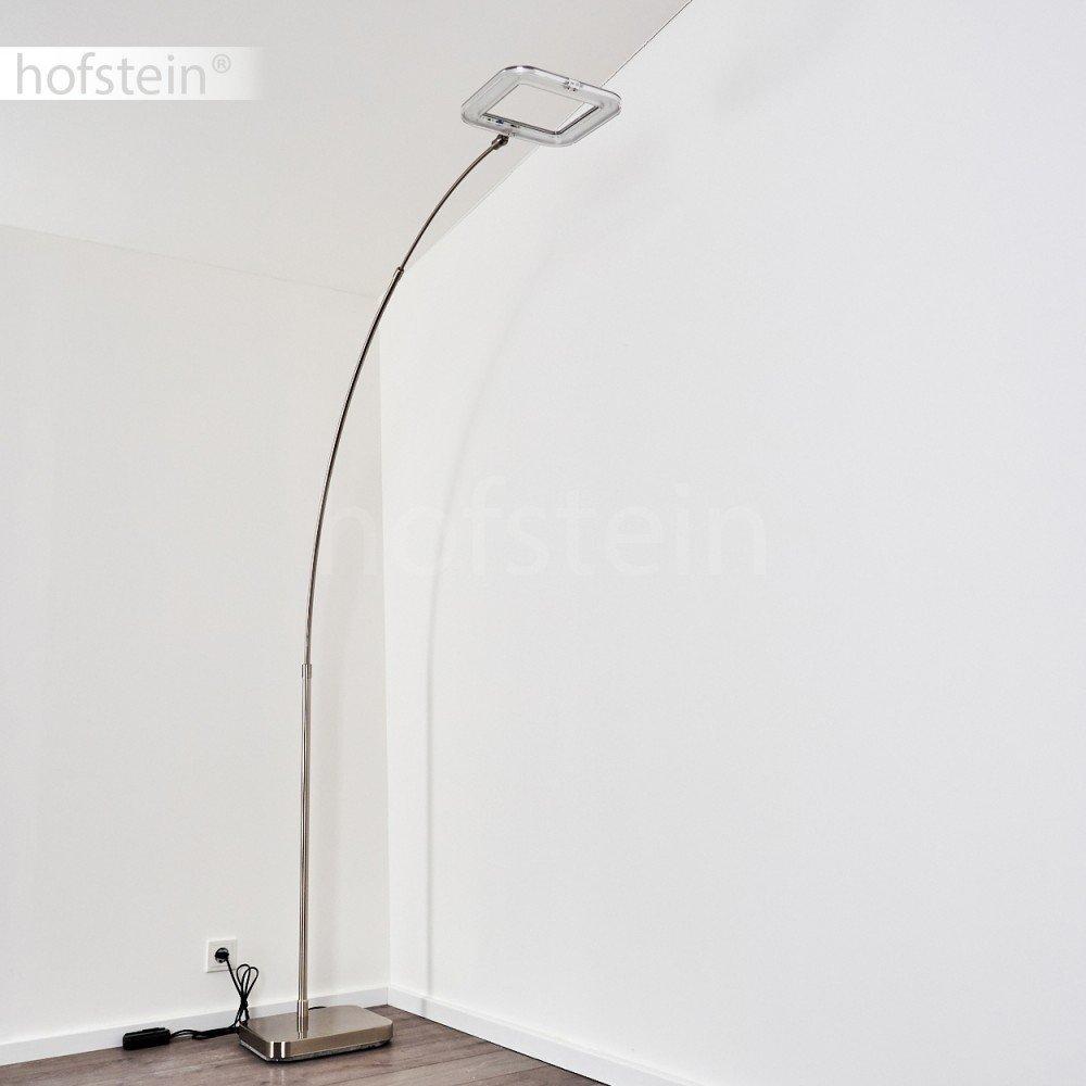 Lampada ad Arco Altezza Regolabile ideale per Soggiorno Studio e Camera da Letto Lampada da Terra Design Minimale Moderno Lampada a Stelo Luce LED Bianca Calda Dimmerabile