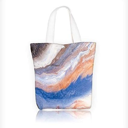 Amazon Com Ladies Canvas Tote Bag Painted Background
