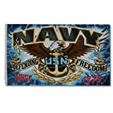 NEOPlex Economy 3′ x 5′ Military Flag – Navy Defending Freedom Review