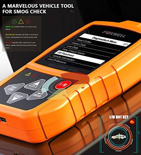 FOXWELL Orange NT201 Auto OBD2 Scanner Check Car Engine ...