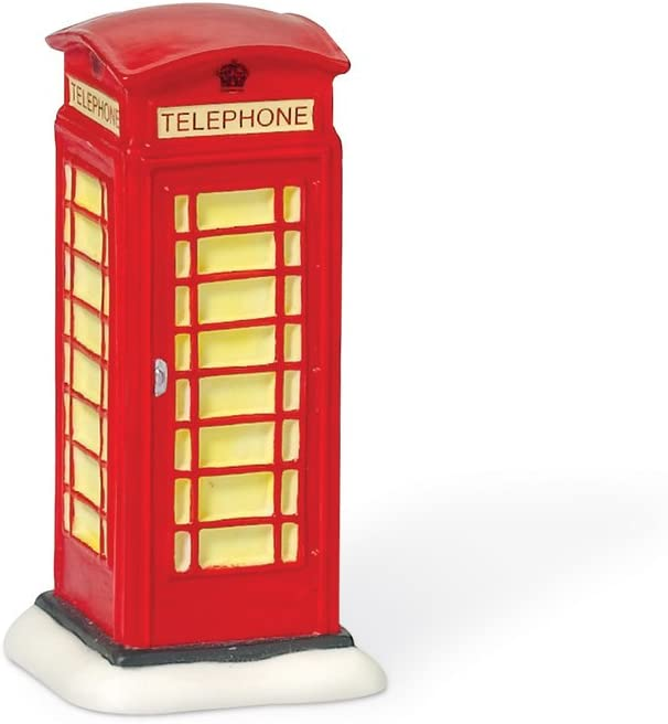 Department 56 English Phone Booth