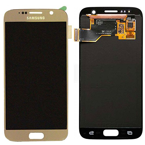 Touch Screen Digitizer and LCD for Samsung Galaxy S7 - Gold Platinum by Group Vertical