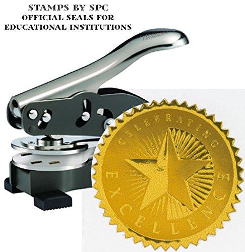 Embosser Bundle // Custom Embosser (Seal) & Premium Gold ...