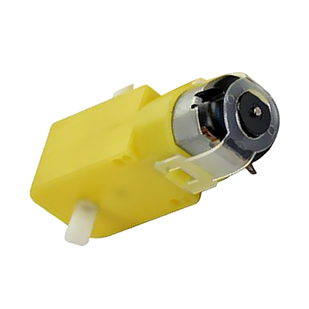 Pack of 10 D DOLITY Gear Motor Dual Shaft for Smart Car Robot Arduino