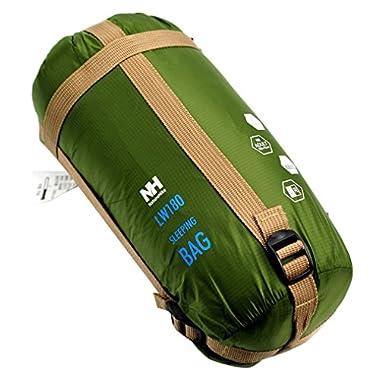 Naturehike Envelope Outdoor Sleeping Bag Camping Sleeping Bags (Army green)
