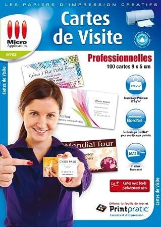 Micro Application 5056 Carte De Visite