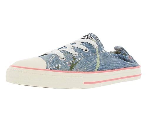 zapatillas converse azul claro mujer