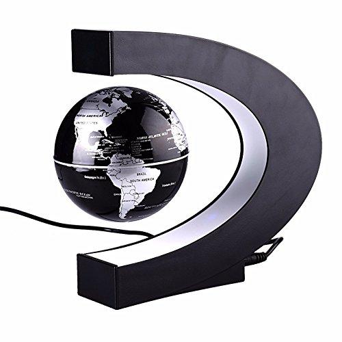 Zantec Globo di levitazione Magnetica u-Forme levitazione Magnetica Globe LED Night Light Natale Regalo di Compleanno alla casa Ufficio Decorazione
