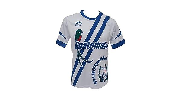 Guatemala Hombres Jersey De Fútbol Diseño Exclusivo de Arza Deportes: Amazon.es: Ropa y accesorios