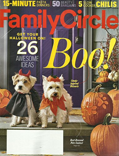 Family Circle October 2016 Boo 26 Awesome Ideas For Halloween (Halloween Ideas)