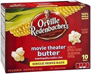 product image for Orville Redenbacher's Movie Theater Butter Microwave Popcorn Single Serve Bags- 10 CT