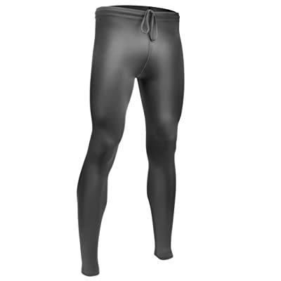ATD Mens Spandex Fitness Compression Tights BLACK - Made in USA