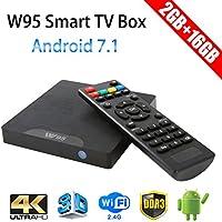 Greatlizard W95 TV Box Android 7.1 2GB+16GB Quad-core 64-bit CPU Ultra HD 4K WiFi
