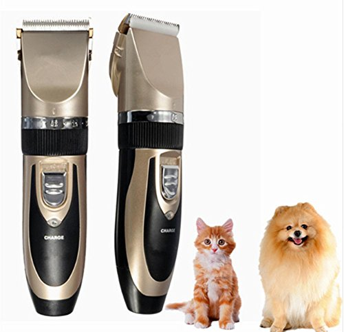 Angelwing Dog Grooming Hair Trimmer Electric Clipper Shaver Set Haircut Kit Rechargeable Pet - Edinburgh To Indianapolis