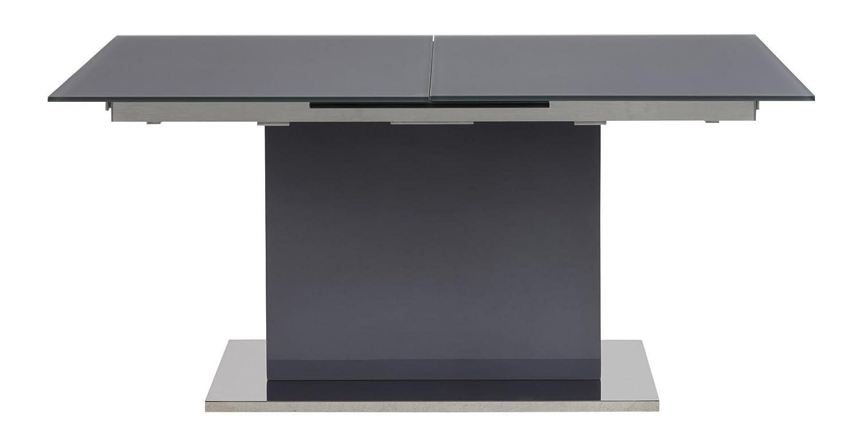 PKline Esstisch 160/210x90 cm Glastisch
