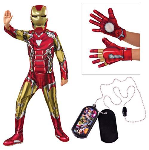 Marvel Avengers Child's Iron Man Costume Bundle,