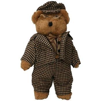 5aa3d18ba68 Amazon.com  Papa Plush Teddy Bear 12 Inches Stuffed Animal with Eye ...