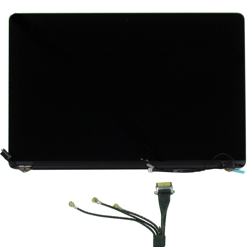 Apple MacBook Pro 15'' A1398 Late 2013/Mid 2014 Retina Display Full LCD LED Display Screen Assembly Repair Part 661-8310