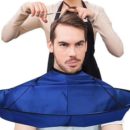 Gaddrt DIY-Haar-Ausschnitts-Umhang-Regenschirm Umhang-Salon-Friseur-Salon und die Hausstilisten, die verwenden (B)