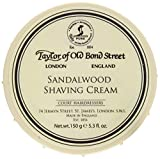 Taylor of Old Bond Street Sandalwood Shaving Cream Bowl, 5.3-Ounce 2PK