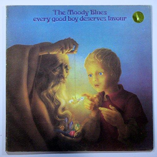 (Moody Blues Every Good Boy Deserves Favor LP Vinyl Record)