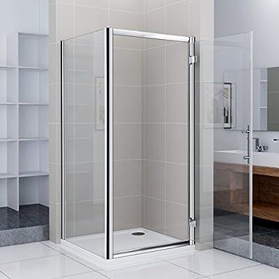 Mampara de ducha Ducha Puerta drehtür Puerta oscilante para ducha ...