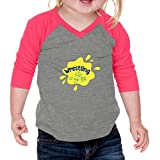 Cute Rascals Wrestling is My Life Sport Infants 60/40 Cotton/Polyester Jersey Shirt - Gray Hot Pink, 12 Months