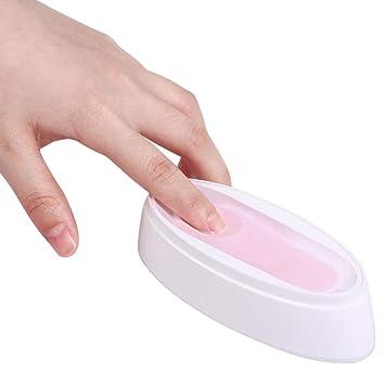 Amazon.com: Molde para manicura de polvo de polvo de uñas de ...