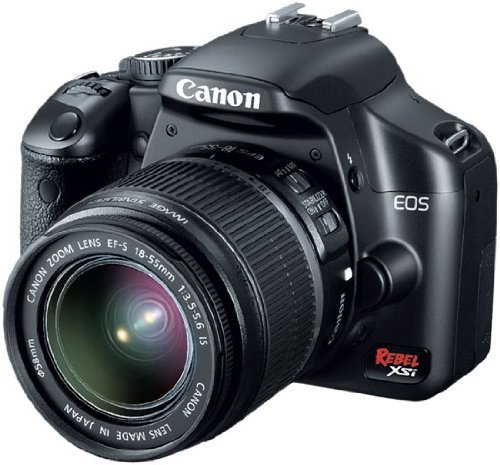 Canon Digital Rebel XSI 12 2 MP Digital SLR Camera with EF-S 18-55mm  f/3 5-5 6 IS Lens (Silver)