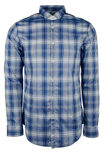 Hugo Boss Men's Green Label C-Bilia Plaid Slim Fit Shirt-OB-XXL by Hugo Boss
