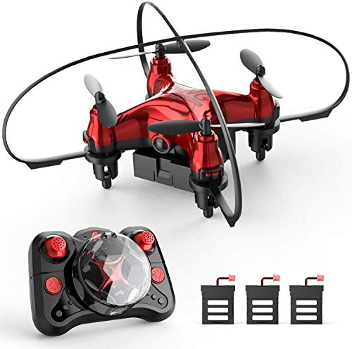 Holyton HT02 Mini Drone for Kids Beginners, Easy Pocket RC Quadcopter with Altitude Hold, 3D Flips, 3 Speed Modes, 3…