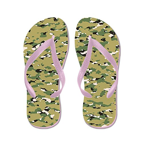 Camouflage Camouflage: Woodland Iv (nwu Iii Kleuren - Flip Flops, Grappige String Sandalen, Strand Sandalen