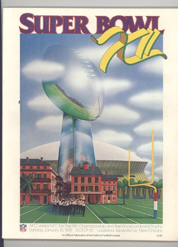 super bowl 12 program - 1