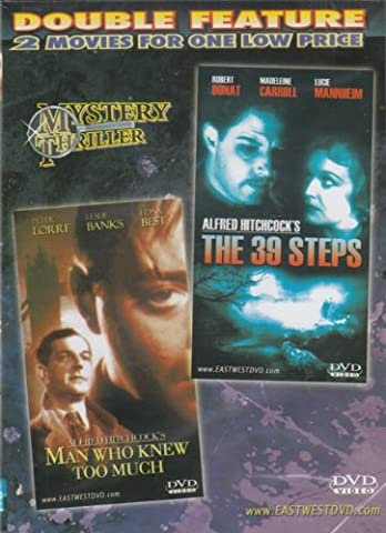 Man Who Knew Too Much / The 39 Steps [Slim Case] (The Man Who Knew Too Much Dvd)