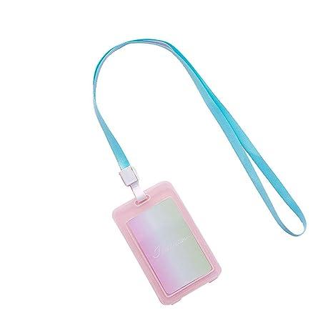 Wonque Card - Funda de Piel sintética para Tarjeta de ...