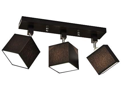 Plafoniera Per Cucina : Plafoniera illuminazione a soffitto in legno massiccio lls312dpr