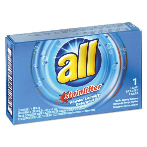 Powder Laundry Detergent Coin - All All Ultra Coin-Vending Powder Laundry Detergent, 1 Load, 100/Carton
