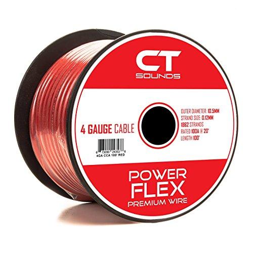 4 gauge amp power wire - 9