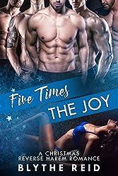 Five Times the Joy: A Reverse Harem Christmas Love Story