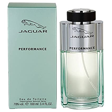 Jaguar Performance By Jaguar For Men, Eau De Toilette Spray, 3.4-Ounce Bottle