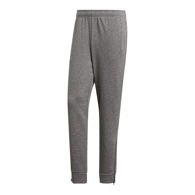 pantaloni adidas grigi uomo