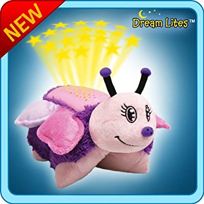 "Pillow Pets Dream Lites - Pink Butterfly 11"" Children / Kids Toy / Game: Toys & Games"