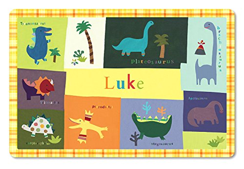 (Personalized Placemat Craft Mat Dinosaur)