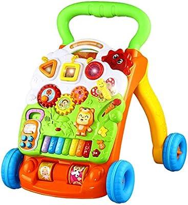 Andador de bebe Baby Walker Música Empujar manualmente Juguetes ...