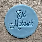 Eid Mubarak Fondant Embosser or