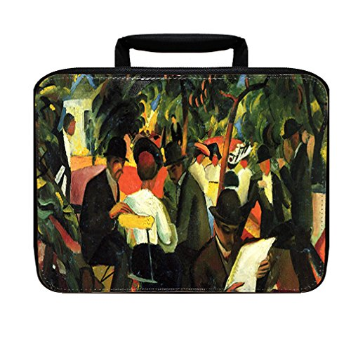 Garden Restaurant (Macke) Insulated Lunch Box Bag (Macke Garden)