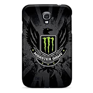 Anti-Scratch Hard Phone Covers For Samsung Galaxy S4 (PFl1190TTkj) Provide Private Custom High Resolution Monster Army Skin