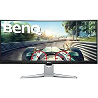 BenQ EX3501R  35 3440x1440 Ultrawide Curved Monitor 100Hz FreeSync 4ms HDR10 Display Port HDMI USB-C