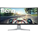 BenQ EX3501R 35' UWQHD HDR10 Curved Monitor 100Hz FreeSync 4ms Port HDMI USB-C