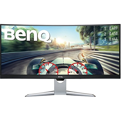"BenQ EX3501R 35"" HDR Gaming Curved Monitor, UWQHD, 100Hz, FreeSync, 4ms, Port HDMI USB-C"